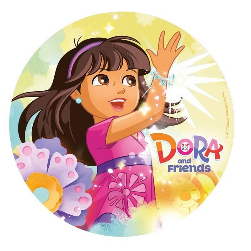 Paw Patrol Dora kageprint